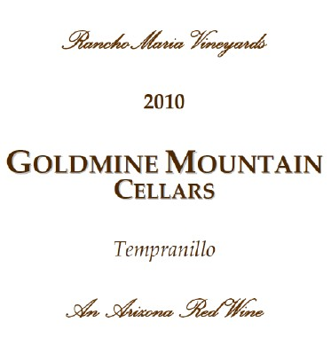 2010 Tempranillo from RanchoMaria