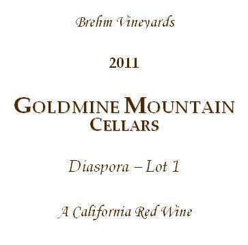 Diaspora Wine Label