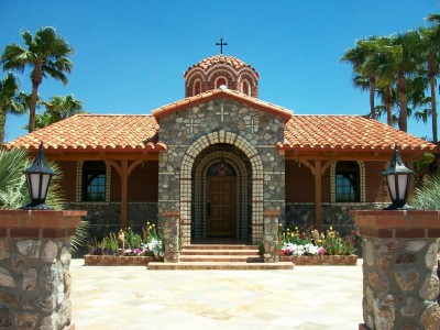 Chapel at St. Anthony's Greek Orthodox Monastery