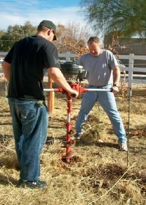 Digging Holes for Trellises, #2
