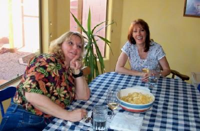 May 2010 AZ Wine Makers (Mary and Tina)