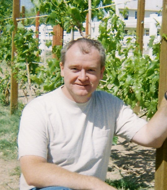 Greg Gonnerman at San Tan Vineyard