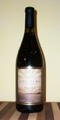 Pillsbury Roan Red Wine